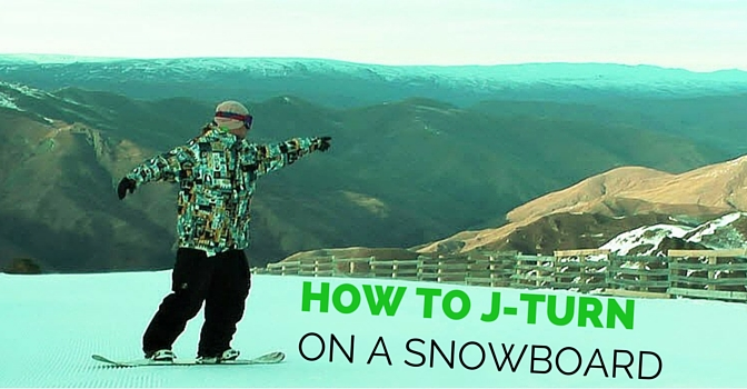 The Ultimate Snowboard J Turn