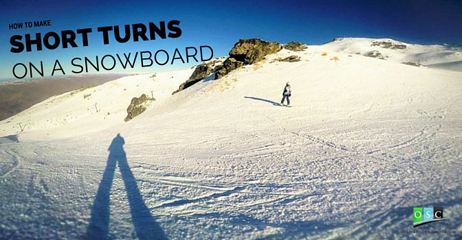 How to make Short Turns