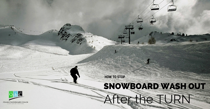 Snowboard Keeps Washing out?