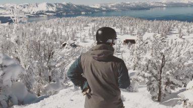 Snowboarding turns tutorial