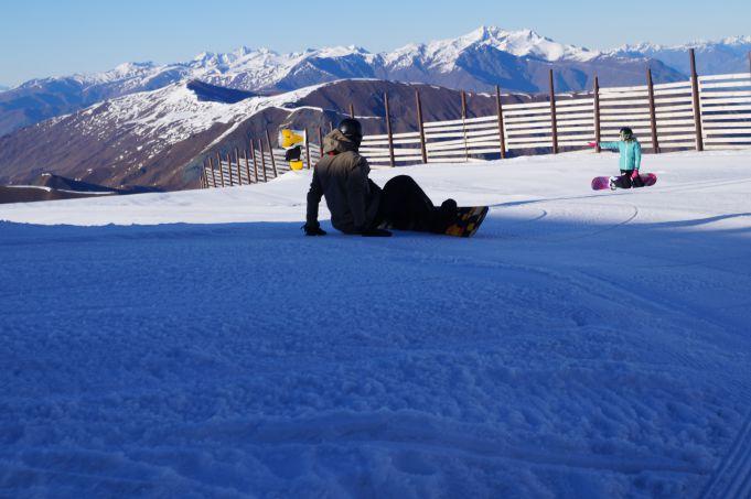 beginner snowboard techniques