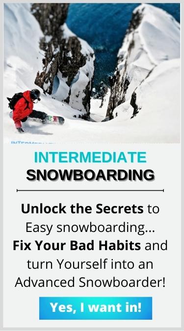 intermediate snowboarding