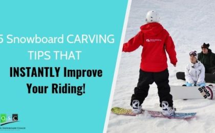 Snowboard carving tutorials