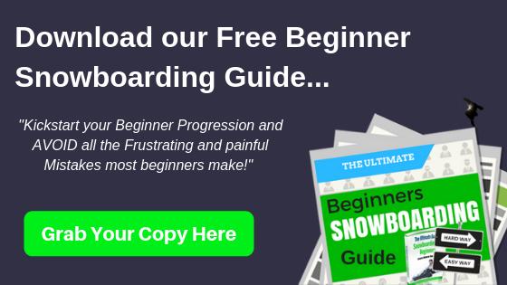 Beginner Snowboarder turns tutorial