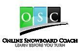 Online snowboard coach Logo