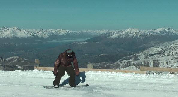 Hop jump compression snowboard tutorial
