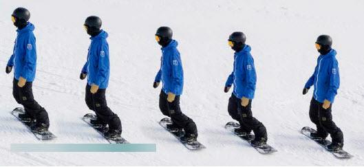 beginner snowboarding technique side slipping