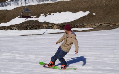 snowboard faster