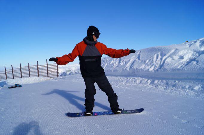 weightback snowboarding