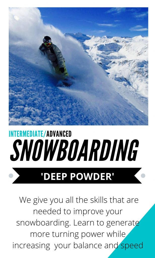 deep powder snowboarding tutorials