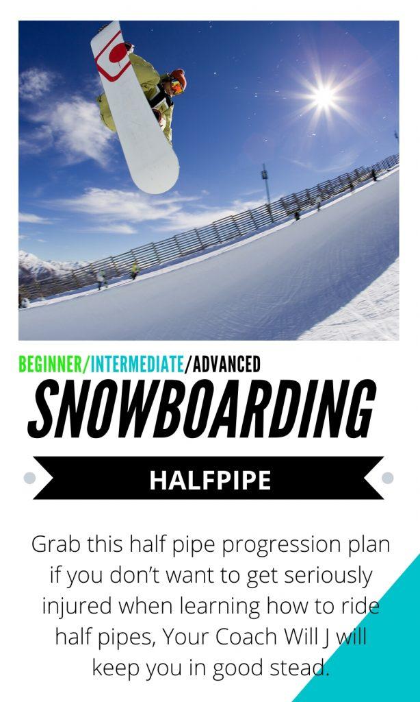 halfpipe snowboarding tutorials